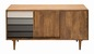 Mobile Preview: Tom Tailor Sideboard aus Mangoholz Korpus Naturfarbend Schubladen Grau