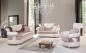 Preview: Sofa Set Pamela 3+2+1 in Rose-Weiss