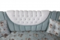Preview: Sofa Set Samira 3+2+1 in Hellblau-Weiss