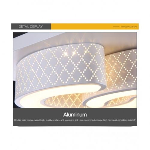 decopoint m bel in troisdorf led design deckenlampe wandlampe 6817 48w volldimmbar mit. Black Bedroom Furniture Sets. Home Design Ideas