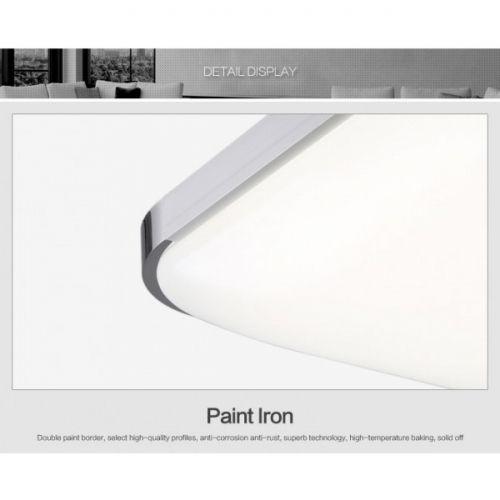 decopoint m bel in troisdorf led deckenlampe 6501 72w silber volldimmbar mit fernbedienung. Black Bedroom Furniture Sets. Home Design Ideas