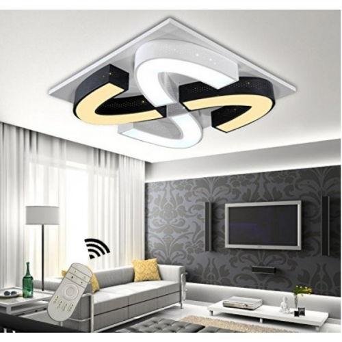 decopoint m bel in troisdorf led design deckenlampe wandlampe 6905 48w dimmbar mit fernbedienung. Black Bedroom Furniture Sets. Home Design Ideas