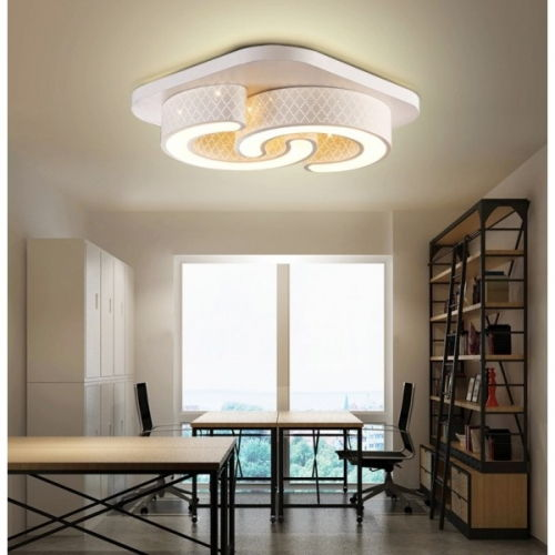 led design deckenlampe wandlampe 6817 24w volldimmbar mit. Black Bedroom Furniture Sets. Home Design Ideas