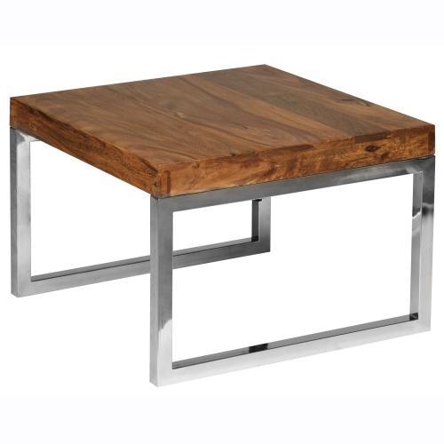 Weran Beistelltisch Guna Massiv Holz Sheesham Wohnzimmer Tisch