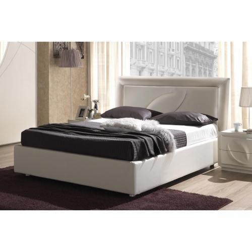 Bett 160x200 cm Trevia in weiß Stilvoll elegante Möbel