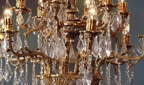 Kronleuchter Barock ~ Casa padrino barock kristall decken kronleuchter cream gold h