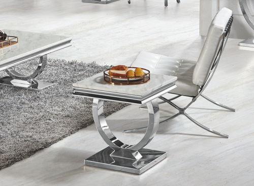 decopoint m bel in troisdorf gloria 1206 chrom silber gold beistelltisch verschiedene gr en. Black Bedroom Furniture Sets. Home Design Ideas