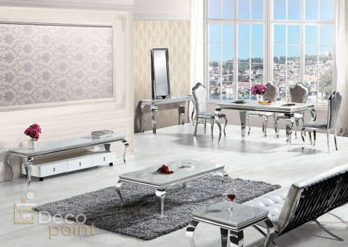 decopoint m bel in troisdorf polo 1203 chrom silber. Black Bedroom Furniture Sets. Home Design Ideas