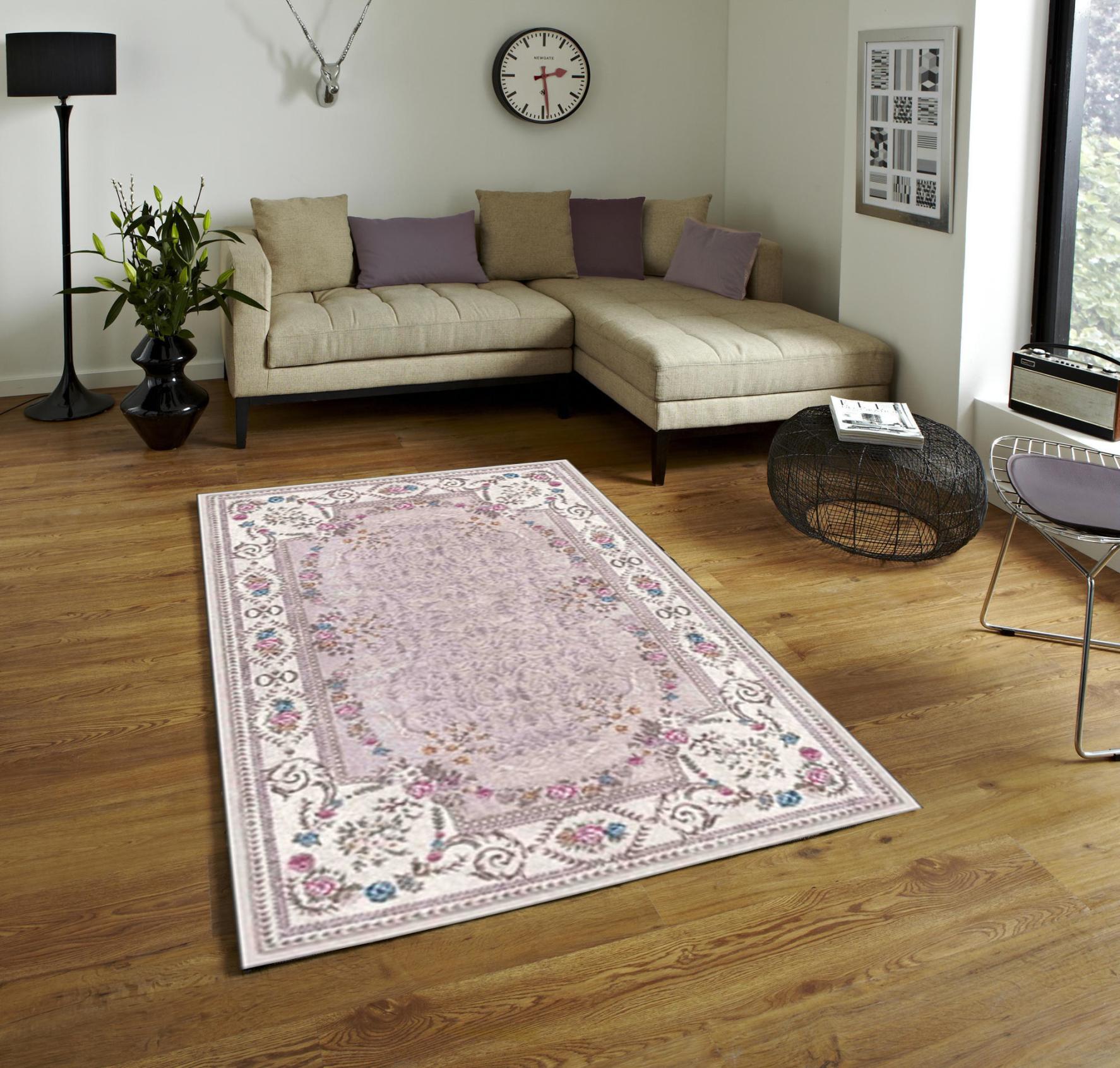 Vintage möbel weiss rosa  DecoPoint - Möbel in Troisdorf - sunshine dinarsu hell weiß teppich ...