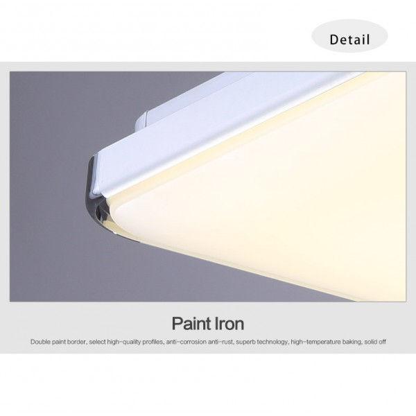 decopoint m bel in troisdorf led deckenlampe wandlampe k chenlampen 6506 24w warmweiss. Black Bedroom Furniture Sets. Home Design Ideas