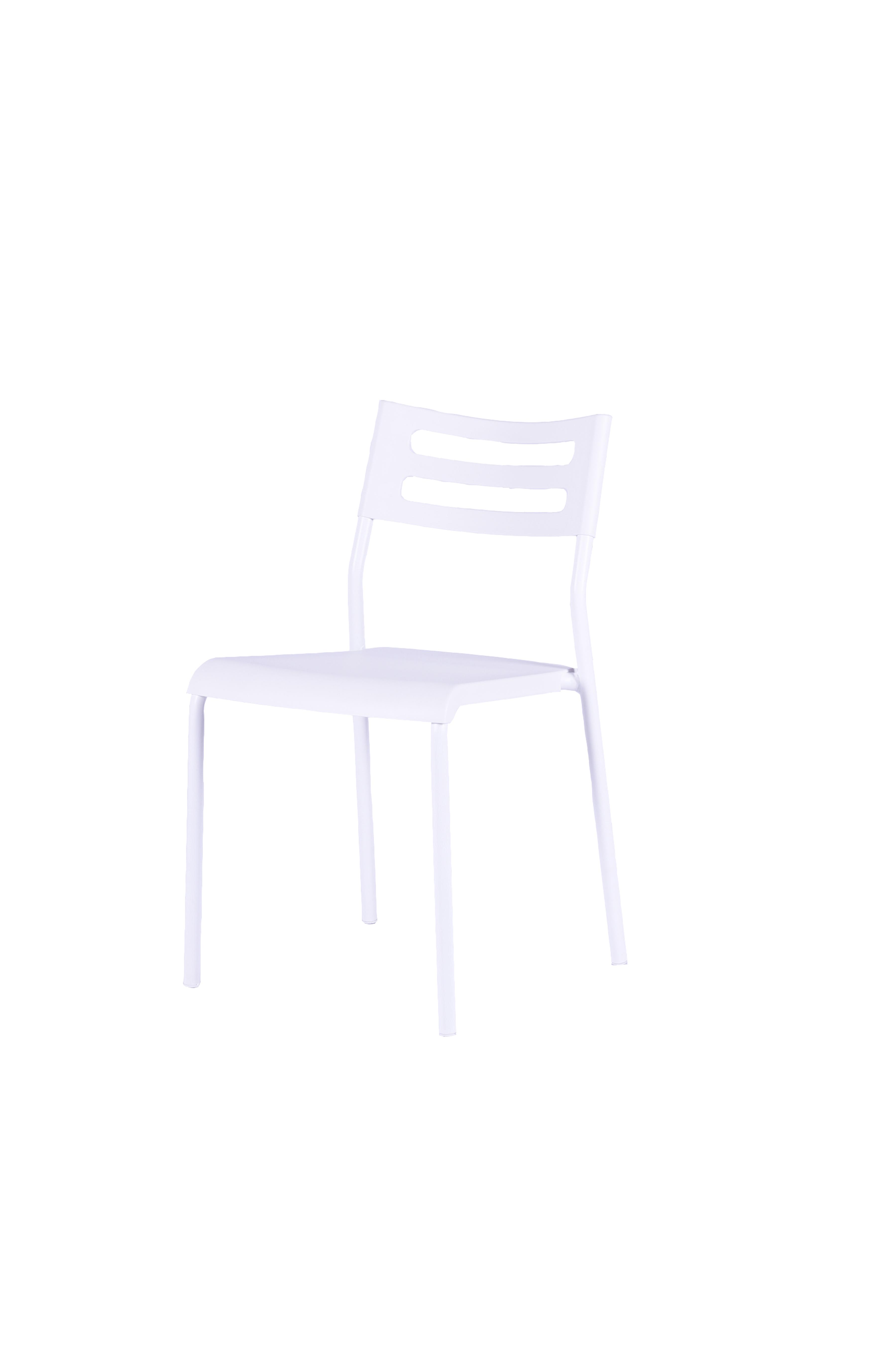 Stuhl 2er Set Beine Pulverbeschichtetes Metall Sitz Und Rucken