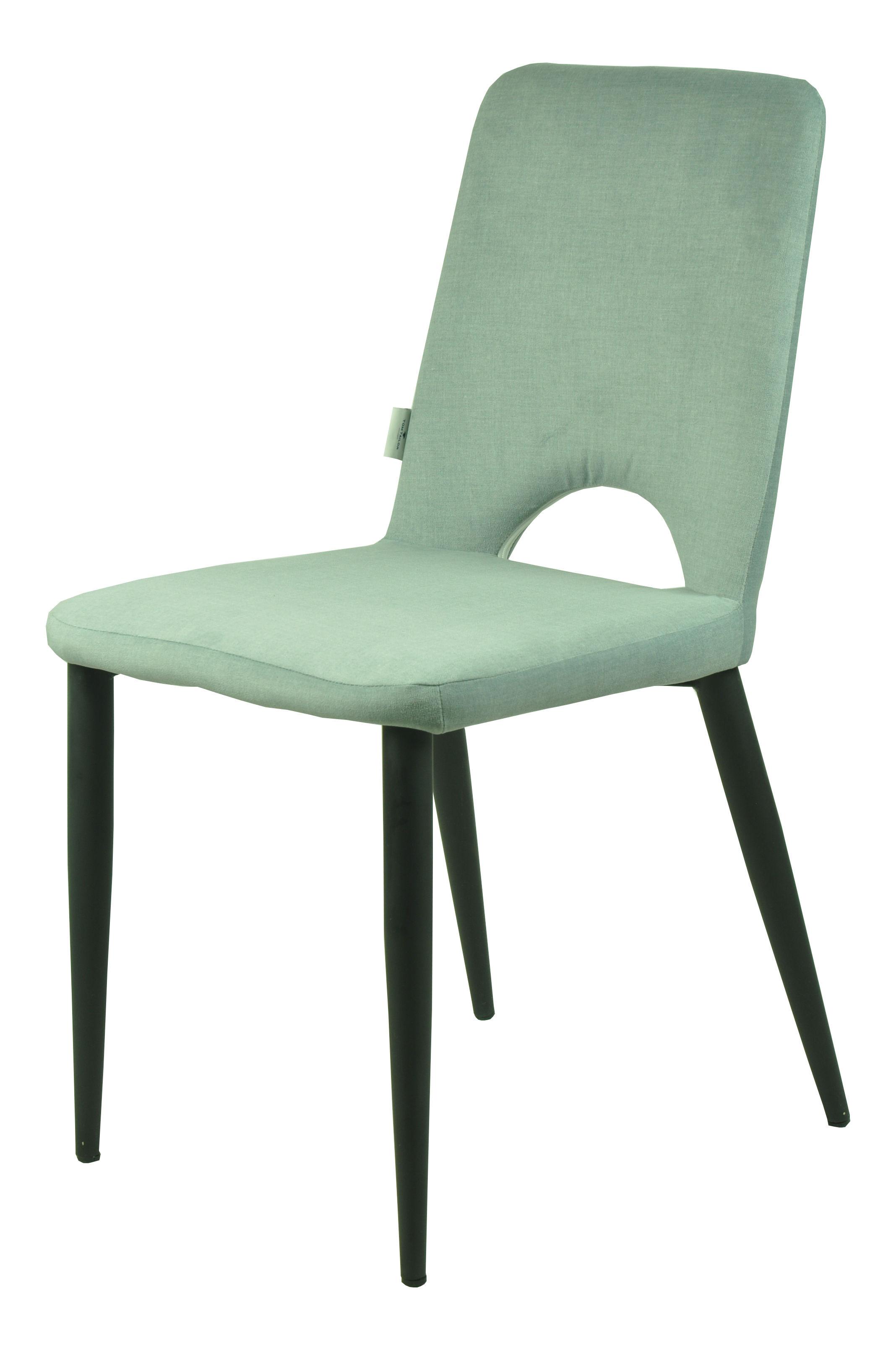 Stuhl tom schwarz cheap stuhl erset bezug aus stoff von - Stuhl tom grau ...