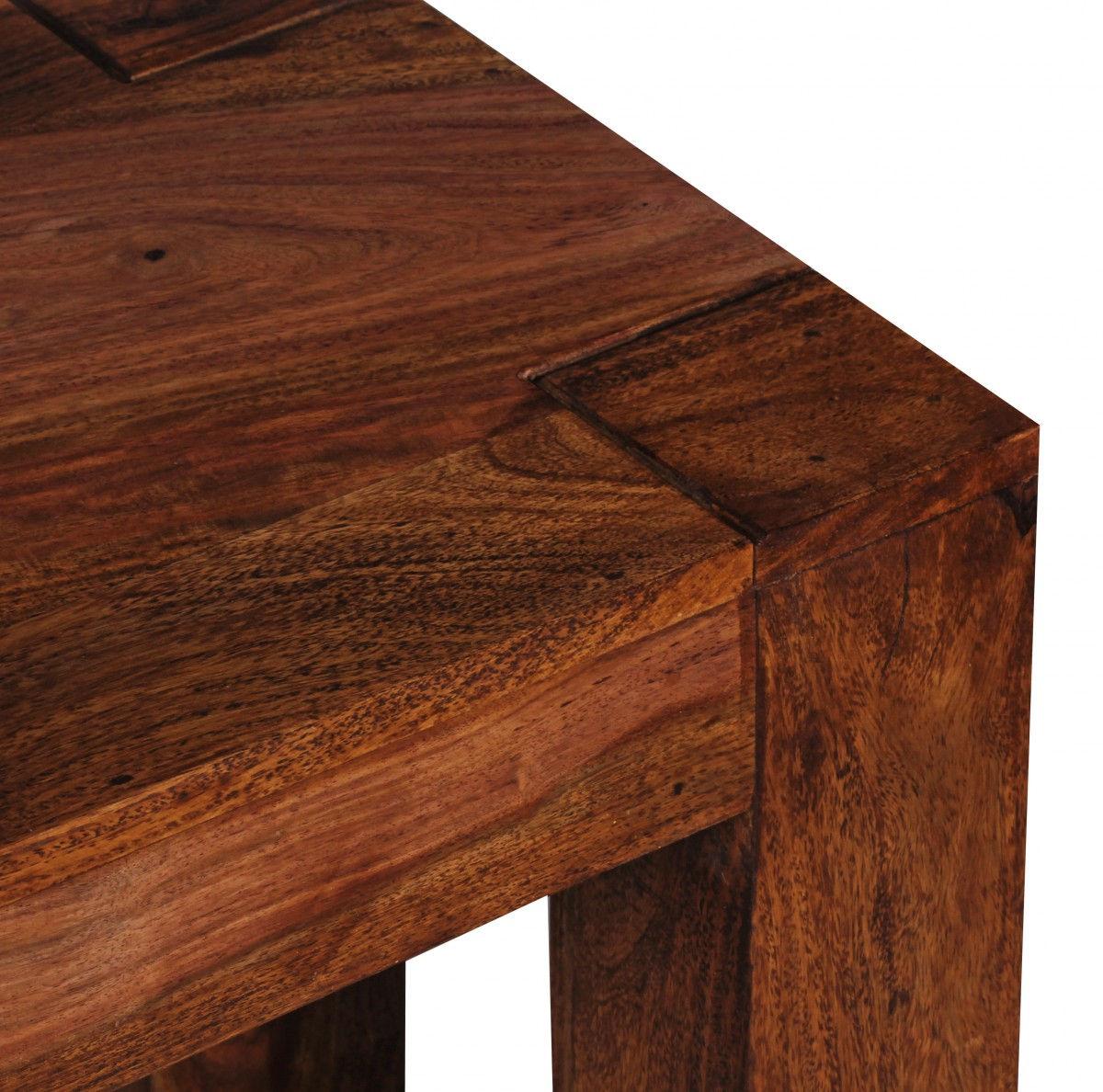 Weran Esszimmer Sitzbank MUMBAI Massiv Holz Sheesham 160 X 45 X 35 Cm Holz
