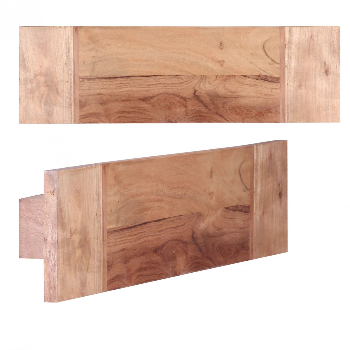 decopoint m bel in troisdorf weran handtuchhalter mumbai massivholz akazie 50 cm wandregal. Black Bedroom Furniture Sets. Home Design Ideas