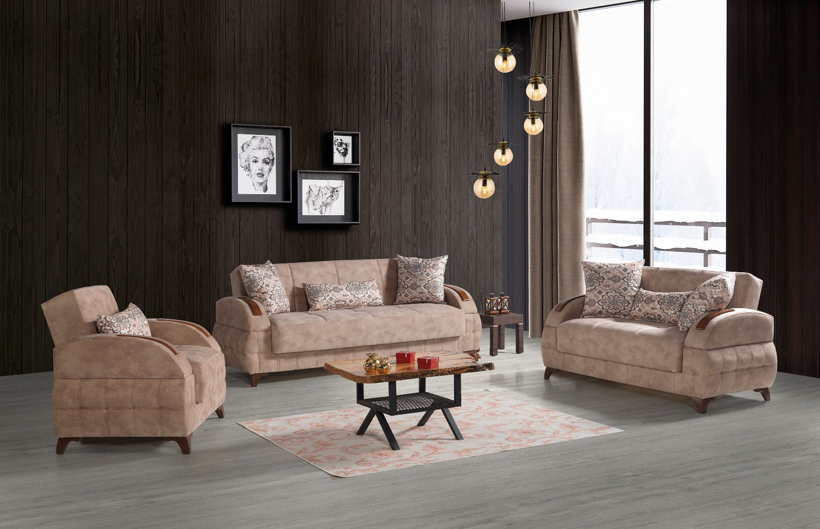 3er 2er 1er Couch Garnitur