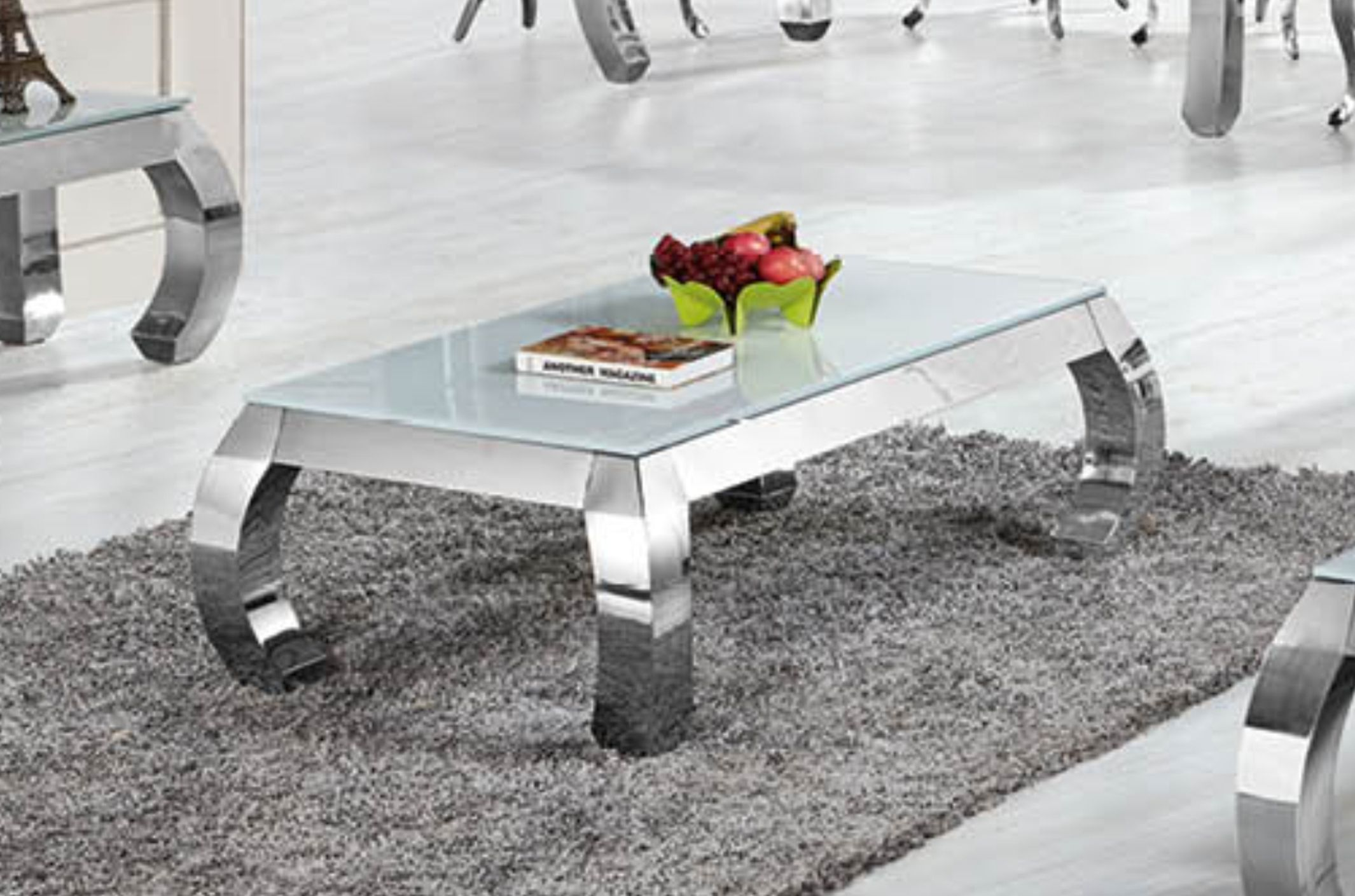 royale 1301 chrom silber gold couchtisch verschiedene. Black Bedroom Furniture Sets. Home Design Ideas