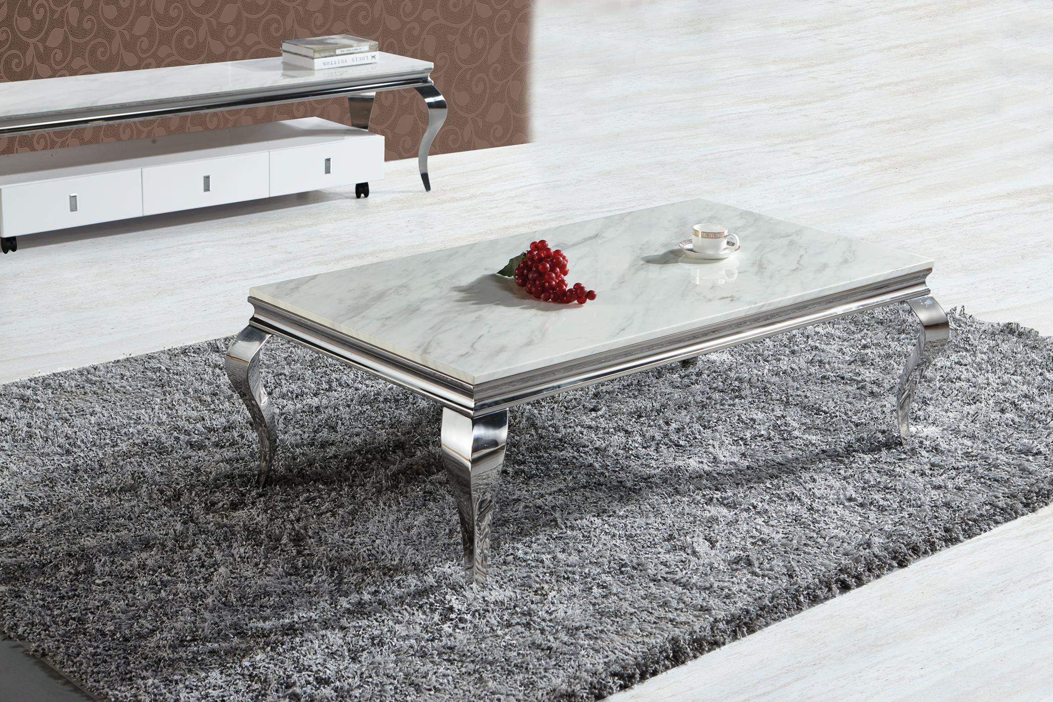 polo 1203 chrom silber gold couchtisch verschiedene gr en. Black Bedroom Furniture Sets. Home Design Ideas